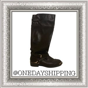 Report Shoes | Report Knee High Neves Riding Boots
